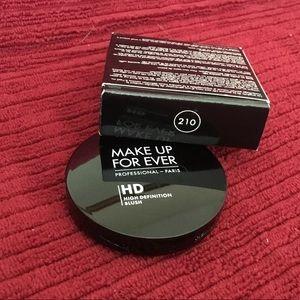 MAKE UP FOREVER HD SECOND SKIN CREME BLUSH #210